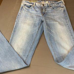 J Crew matchstick/stretch jeans women's /size 30R
